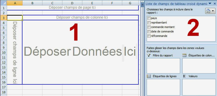 Excel Les Tableaux Croises Dynamiques